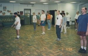 Basement taiji class 1998 small