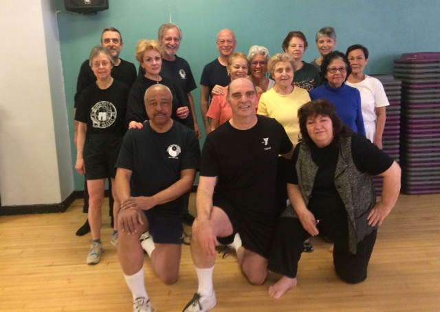 Recent Satruday YMT Taiji class Cropped