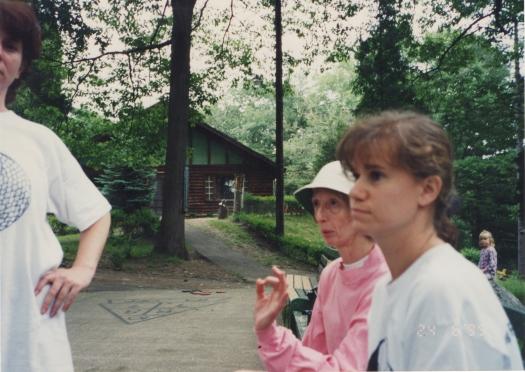 Baker camp Gretchen and Lisa