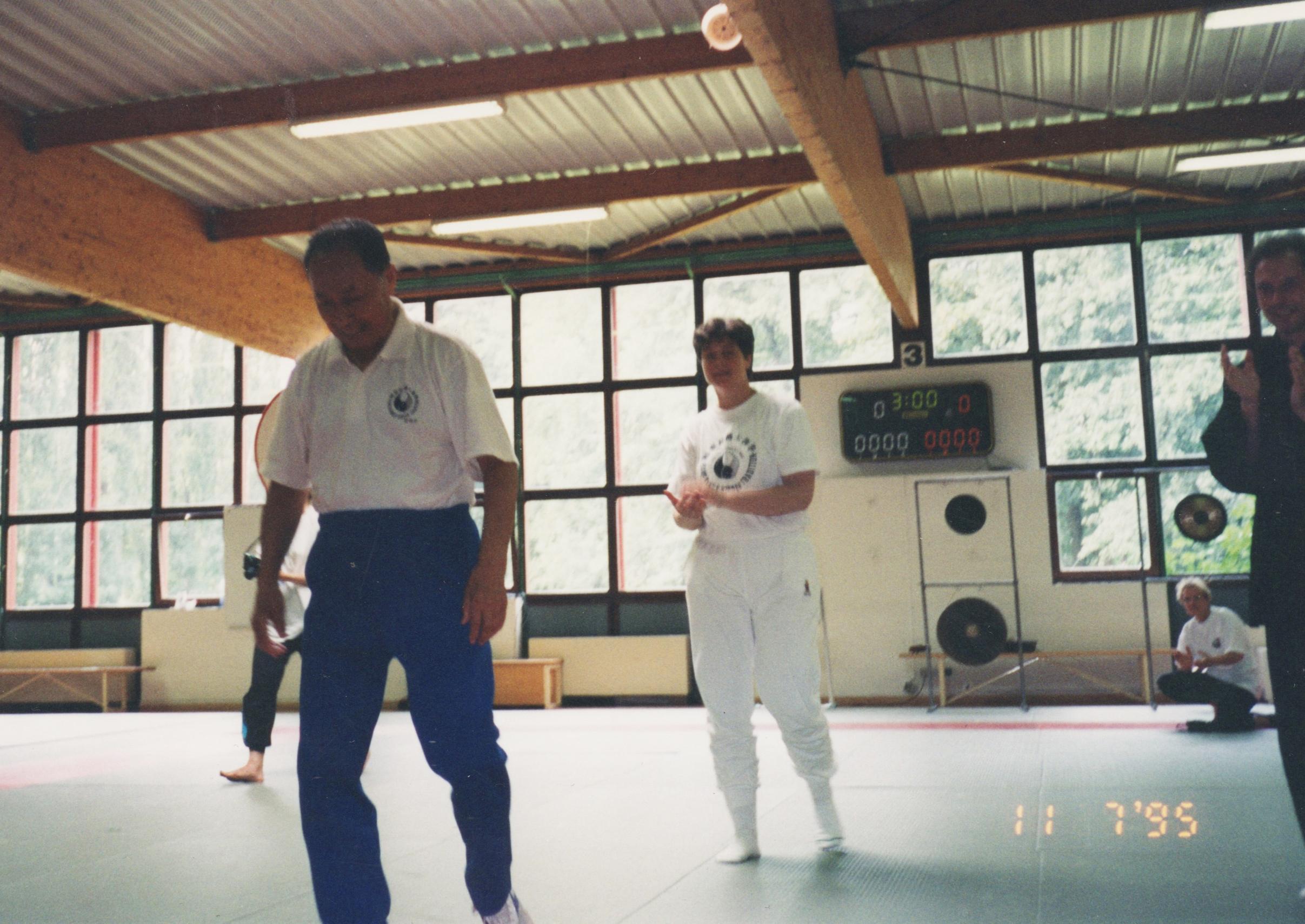 WYN leaves floor Strasbourgh taiji