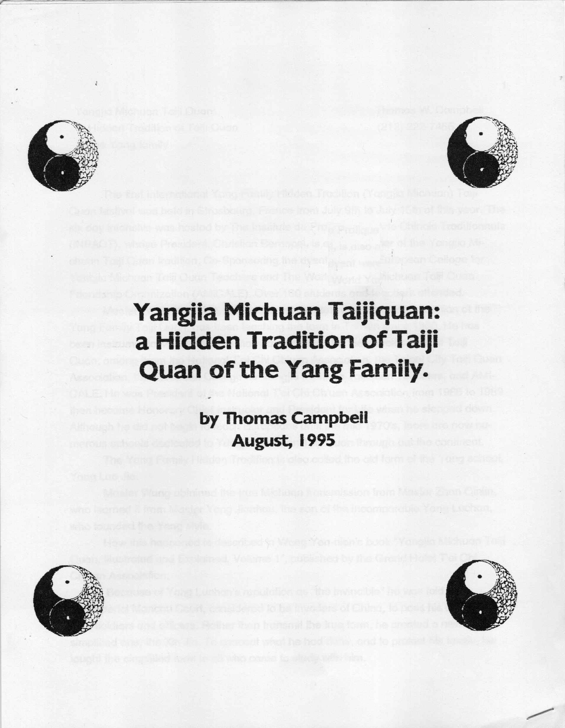 YMT Article 1995 1